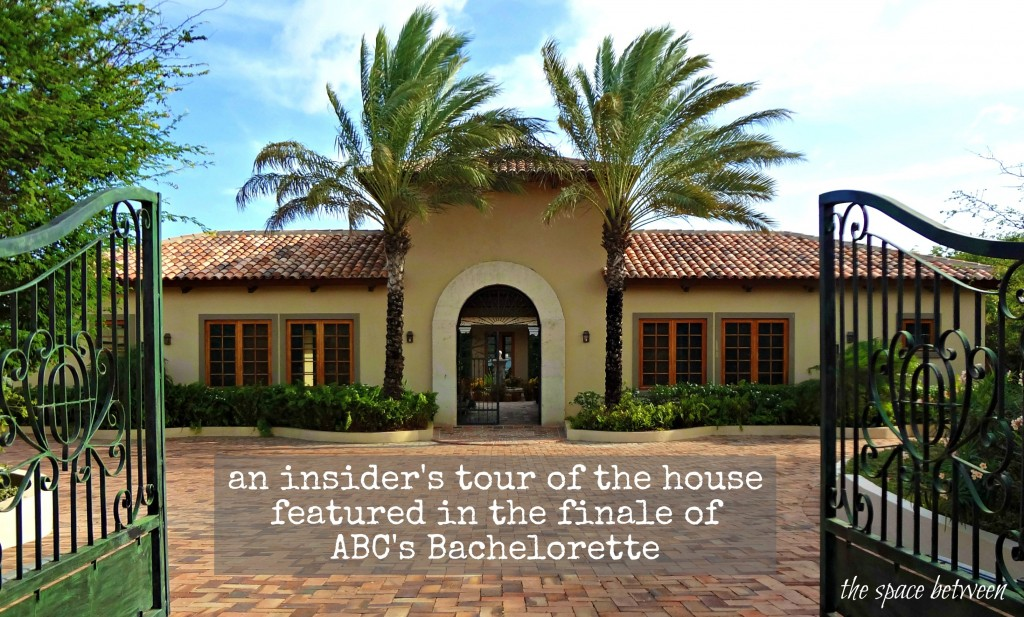 bachelorette house tour