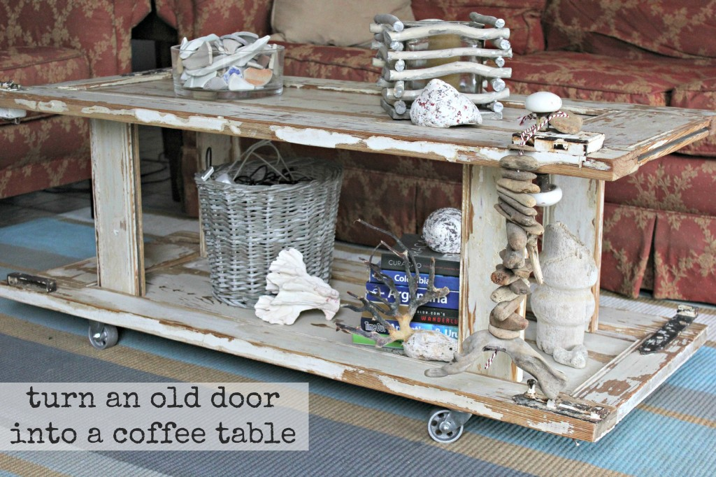 Tutes tips not to miss 75 home stories a to z - Make a table from an old door ...