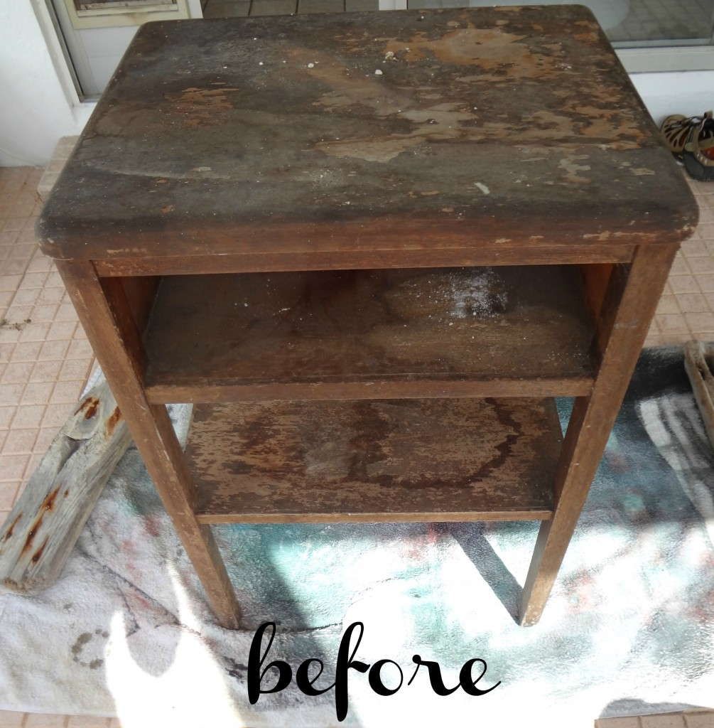 Small Table Painting Ideas 9