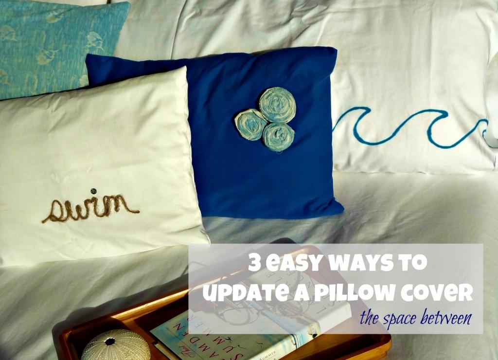 Pillow Embellishment Ideas: 3 pillow {embellishment} ideas,